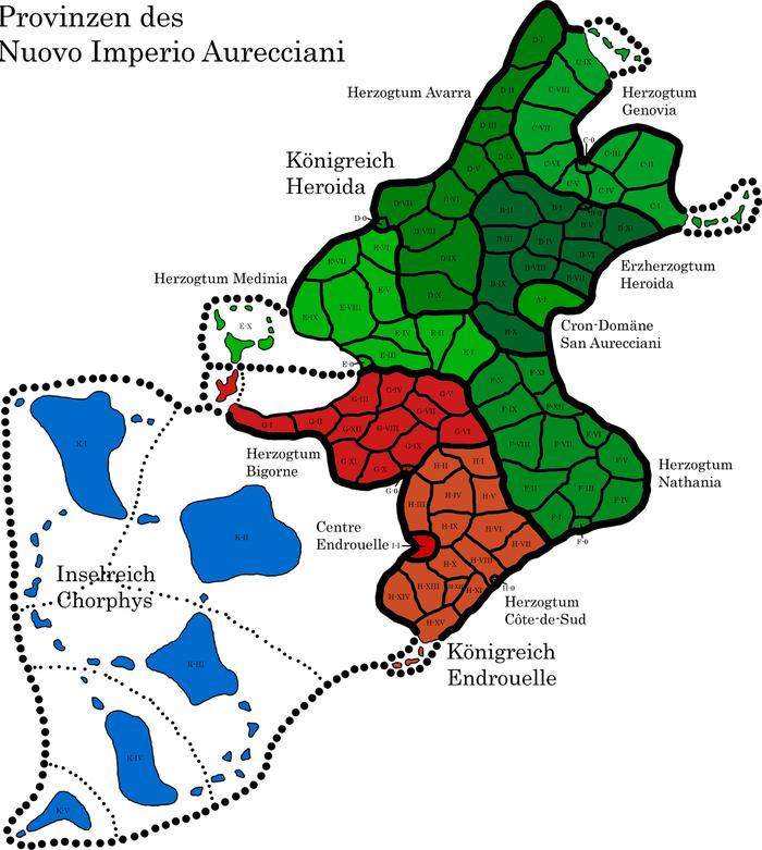 genovien karte Politische Einteilung des Nuovo Imperio Aurecciani – AntamarWiki genovien karte